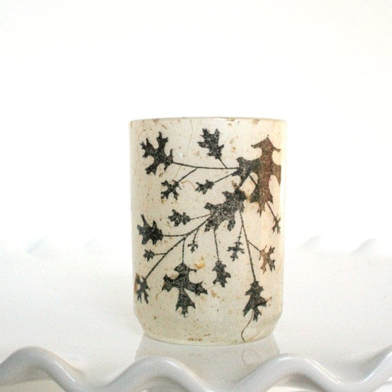 French Parisian Home Decor Lighting Glass Candle Holder Luminary with Vines for Housewarming Gifts, New Home Gifts, or Party Centerpieces