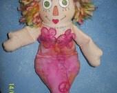 Raggedy Ann Mermaid.