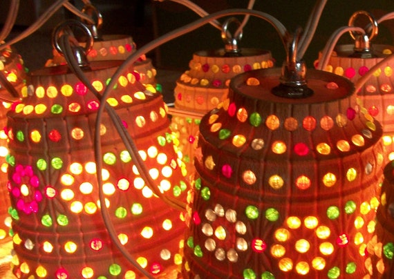 Vintage Lawnware Patio Party Lights