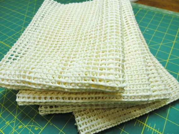 Anti Slip Mesh Fabric Non Slip Grip Fabric Rub Backing Sole
