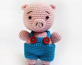 Reco the pig - amigurumi pattern (eng)