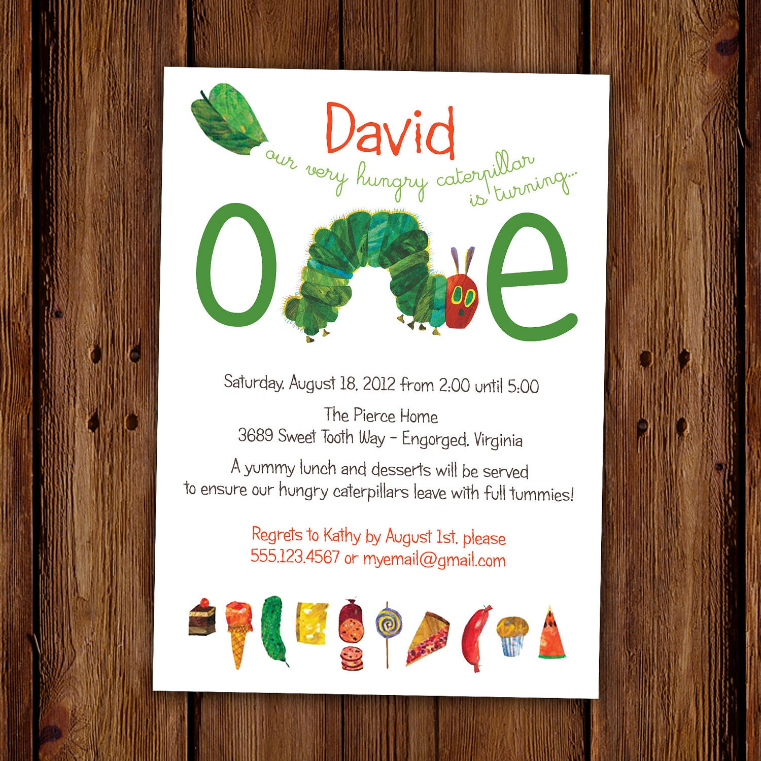 Very Hungry Caterpillar Invites was luxury invitation template