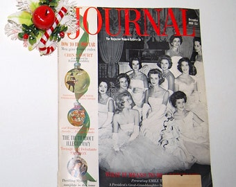 Vintage Christmas Magazine 60s Ladies Home Journal
