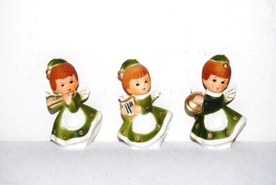 Vintage Christmas Angel Miniatures