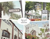 Key West Photography, Key West Print Set,  Key West Photo Prints, Key West Art Set, Key West Florida Art Print, Sloppy Joes, Key West Bar
