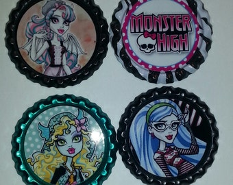 Monster High Bottle Caps