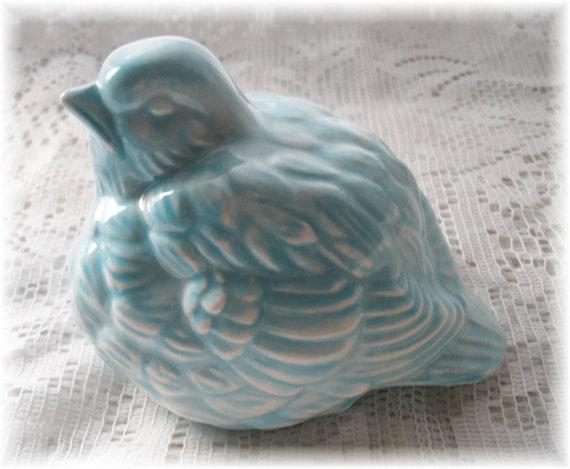 Ceramic Blue Bird Vintage Home Decor Vintage Bird Design Bird