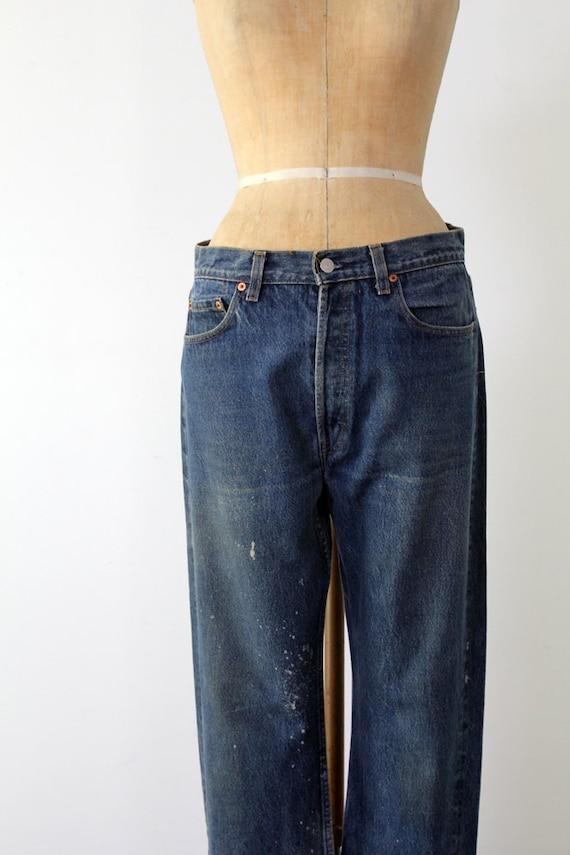 FREE SHIP Vintage Levis 501xx Jeans / 80s American Denim / Waist 33
