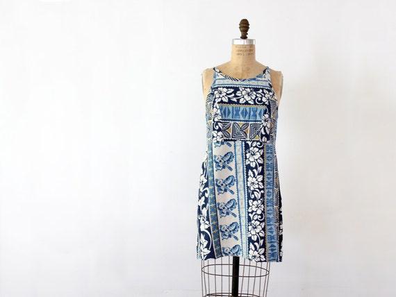 1980s Sun Dress // Vintage Hawaiian Dress