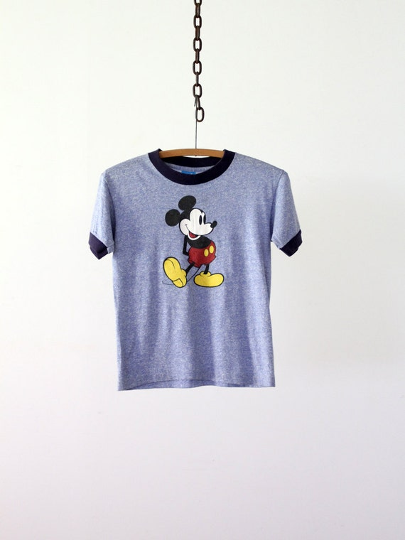vintage Mickey Mouse t-shirt / 1980s disney tee