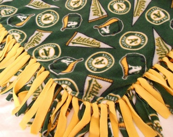 Oakland Athletics Fleece Throw