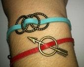 Brass Arrow Bracelet - Hunger Games