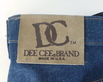 DEADSTOCK 1970's DEE CEE Boot Cut jeans
