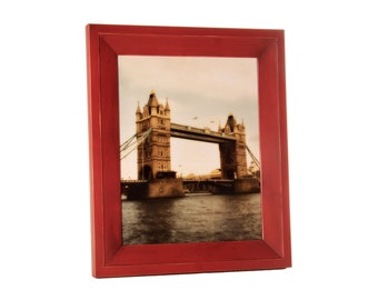8x10 Haven picture frame - Barn Red
