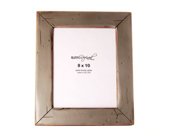 8x10 Cabin picture frame - Gray Green