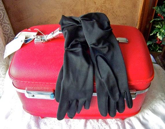 Vintage Black Gloves Aris Original Package
