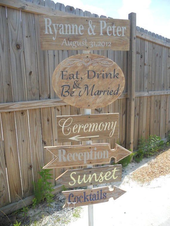 Country Wedding, Rustic Wedding Directional Sign. Mountain Wedding Sign, Country Chic Wedding..You Customize:)