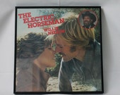 framed the electric horseman record/LP robert redford jane fonda willie nelson FREE SHIP