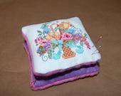 Flower Basket Pin Cushion