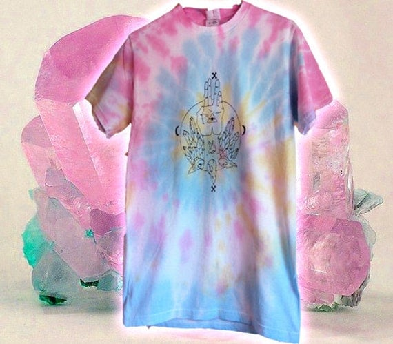 Tie Dye Crystal Spirit shirt