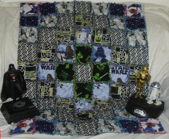 Star Wars Baby Quilt Cotton