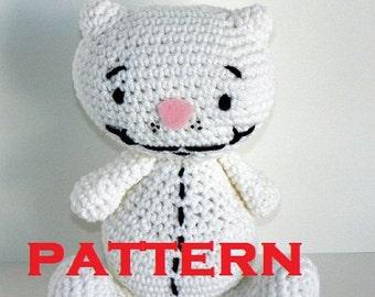 Binoo PATTERN PDF - Crocheted Doll  - Toopy & Binoo Show