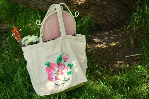 CLEARANCE SALE // 50% off - The Wall Tent Market Tote