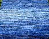 Large Handwoven rag rug - 6' x 5' '-custom colour,  MADE TO ORDER