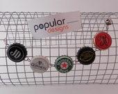 U-Pick Bracelet Beer  Bottle Cap Custom