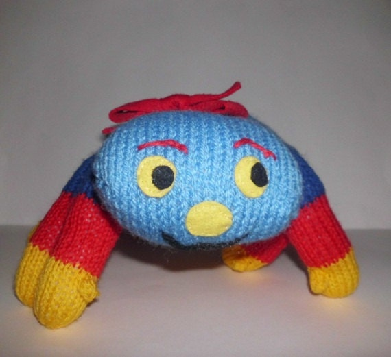 Knitting Pattern For Woolly The Spider : Knitting pattern for Wool Spider by HenniesNimbleneedles ...