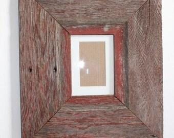 Barn Wood Frame, Rustic Frame, Reclaimed Wood Frame, Large Barn wood Frame, Barnwood Frame