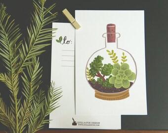 Terrarium Cork Bottle 1pc