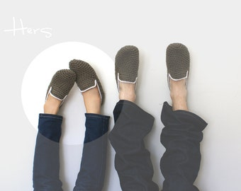 Her Crochet Slippers