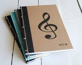 Personalized Music Journal- Choose Your Own Binding