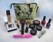Make Up Bag, Cosmetic Bag, Toiletry, Bolsa de maquillaje, Small Pouch, zippered Pouch, Tiny Bag