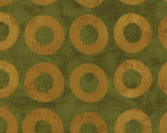 SALE Simple Marks Moss Circles by Malka Dubrowsky for Moda