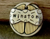 Dog ID Tags-the Mini Winston- small pet id tag for small dogs and cats