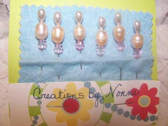 Decorative Stick Pins for Scrapbooking, Cardmaking, Corsage, Bouquet, Cork Memo Boards