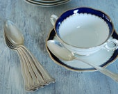 Silver Soup Spoons, Lancaster by Gorham, set of 6