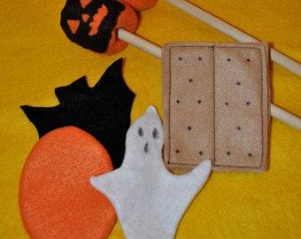 Halloween Felt S'mores Set