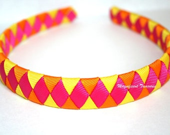 Bright Summer Woven Headband