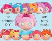 Lalaloopsy Party Mask Kit