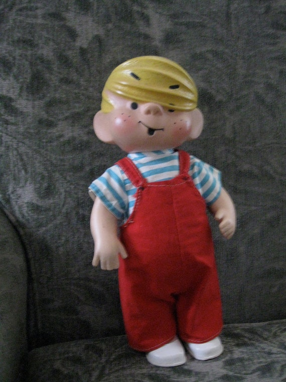 1958 Dennis The Menace Doll By Fairyland Toy By Savedbysalvage