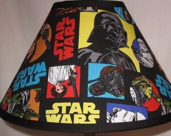 Star Wars Fabric Children's Lamp Shade