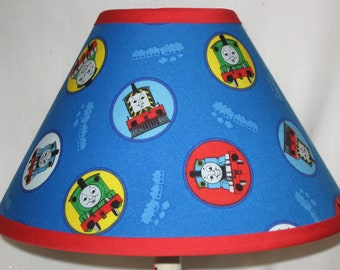 Thomas The Train Fabric Lamp Shade