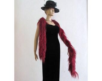 50s Black Velvet Wiggle dress evening gown