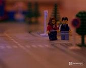 Evening Walk - Framed Lego Photograph - No. 2/75