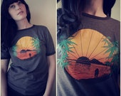 Sunset Love with Mary Jane Tee
