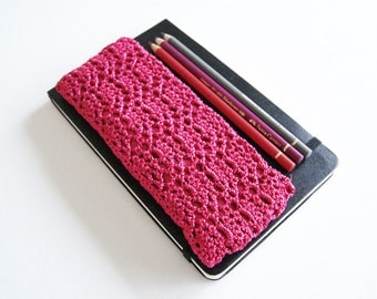 Pink Pencil Case, Pencil Zipper Pouch, First Day of School Gift, Student Gift, Makeup Brush Holder, Pink Gift for Her, College Student Gifts