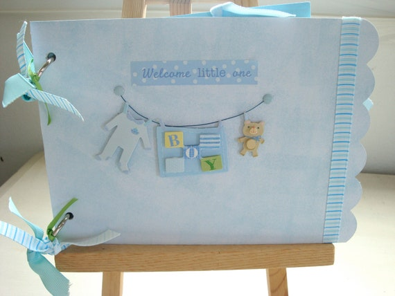 baby boy photo books